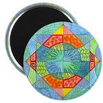 Sacred Geometry Watercolor Magnet