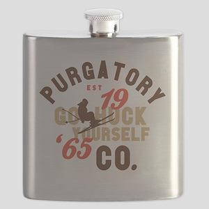 Go Huck Yourself Purgatory Flask