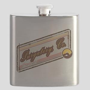 Purgatory Mountain Patch Flask
