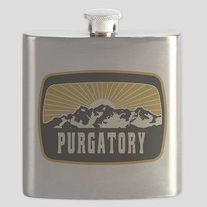 Purgatory Sunshine Patch Flask