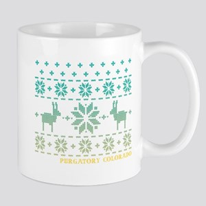 Purgatory Blue Winter Sweater Mug