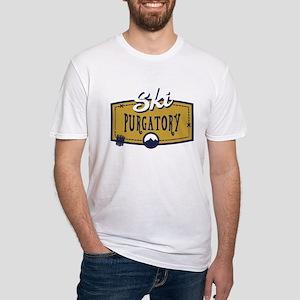 Ski Purgatory Patch Fitted T-Shirt