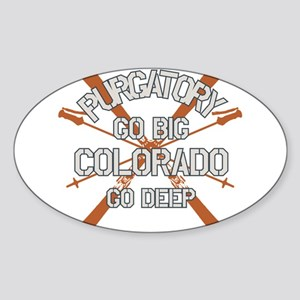 Go Big Purgatory Sticker (Oval)