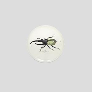 Scarab Hercules Beetle Mini Button