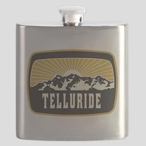 Telluride Sunshine Patch Flask