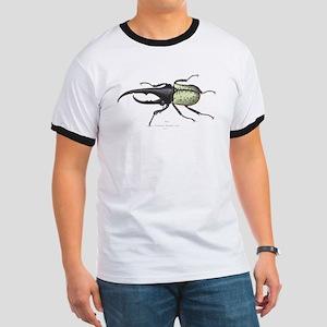 Scarab Hercules Beetle (Front) Ringer T