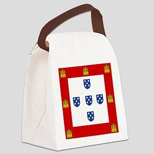 Portugal - National Flag - 1485 Canvas Lunch Bag