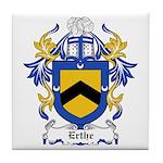 Erthe Coat of Arms Tile Coaster