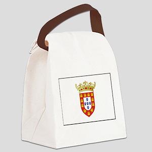 Portugal - National Flag - 1495 Canvas Lunch Bag