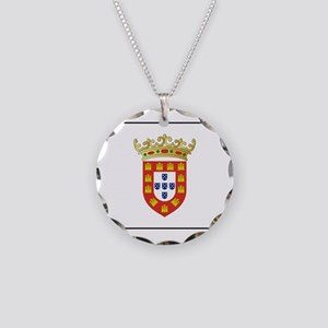 Portugal - National Flag - 1495 Necklace Circle Ch