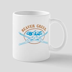 Beaver Creek Crossed-Skis Badge Mug