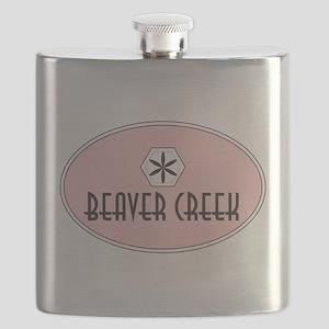 Beaver Creek Retro Patch Flask