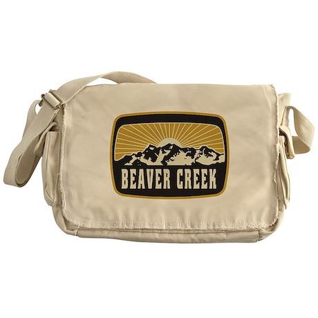 Beaver Creek Sunshine Patch Messenger Bag