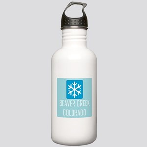 Beaver Creek Snowflake Stainless Water Bottle 1.0L