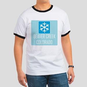 Beaver Creek Snowflake Ringer T