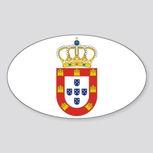 Portugal - National Flag - 1667 Sticker (Oval)