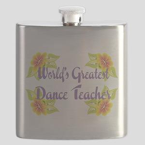 Worlds Greatest Dance Teache Flask