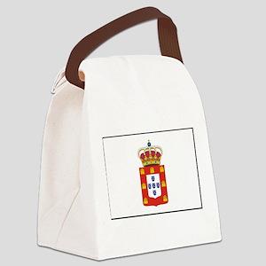 Portugal - National Flag - 1707 Canvas Lunch Bag