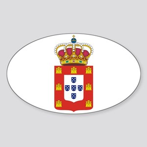 Portugal - National Flag - 1707 Sticker (Oval)