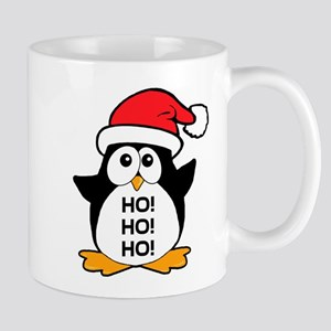 Cute Christmas Penguin Ho Ho Ho Mug