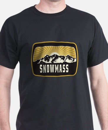 Snowmass Sunshine Patch T-Shirt