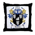 Easton Coat of Arms Throw Pillow