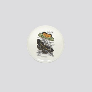 Colorful Moth Insects Mini Button