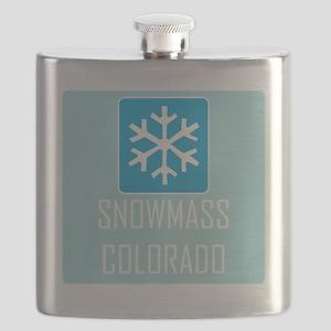 Snowmass Snowflake Flask