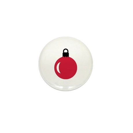 Christmas ball ornament Mini Button (10 pack)