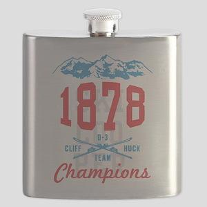 Ski Cooper Cliff Huck Champions Flask