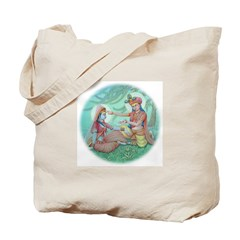 Tote Bag Krishna & Radha Change Clothes