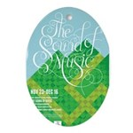 Sound of Music Ornament (Oval)