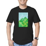 Sound of Music Men's Fitted T-Shirt (dark)