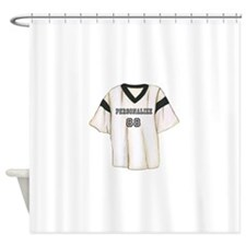 Personalized Sports Jersey Shower Curtain