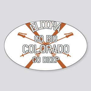 Go Big Eldora Sticker (Oval)