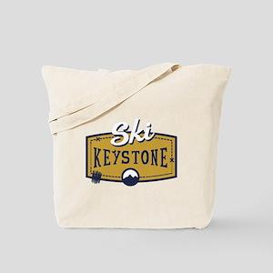 Ski Keystone Patch Tote Bag