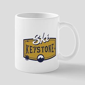 Ski Keystone Patch Mug