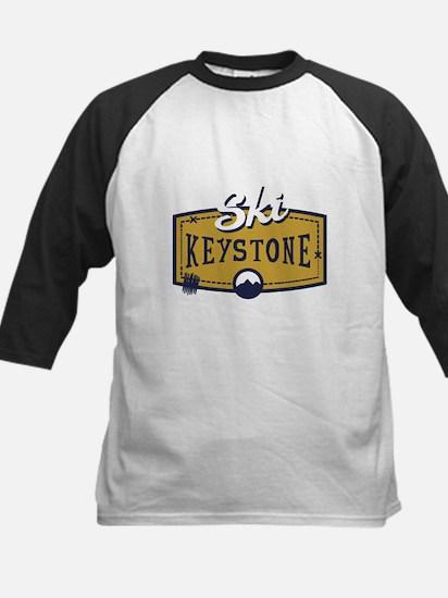 Ski Keystone Patch Kids Baseball Jersey