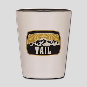 Vail Sunshine Patch Shot Glass