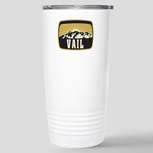 Vail Sunshine Patch Stainless Steel Travel Mug