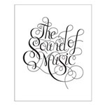 sound of music logo Small Poster