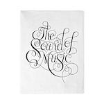 sound of music logo Twin Duvet