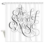 sound of music logo Shower Curtain