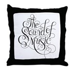 sound of music logo Throw Pillow