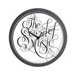 sound of music logo Wall Clock