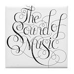 sound of music logo Tile Coaster