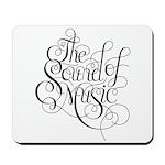 sound of music logo Mousepad