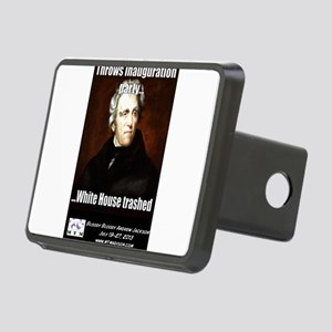AJ Trashed White House Rectangular Hitch Cover