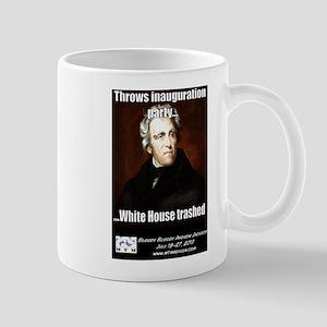 AJ Trashed White House Mug