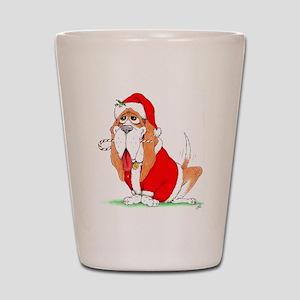 Santa Norman Shot Glass